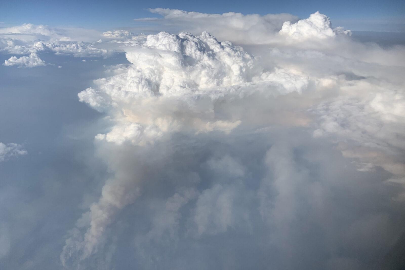 什麼是「火焰狀積雨雲」